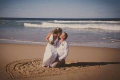 Michelle & Nick Valla Beach Wedding (Medium)